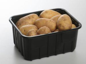 Kartoffeln in Schale aus PP