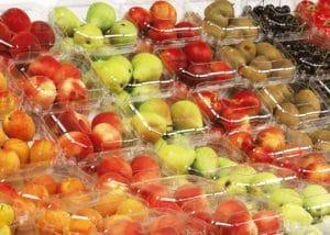 Clamshells für diverse Früchte
