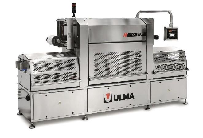 ULMA TSA 875 P, Hochleistungs-Traysealer, speziell für Obst und Gemüse